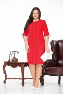 Повседневные платья Нинель Шик 225 красный фото 1