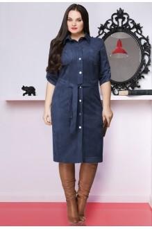 Повседневные платья LeNata 11635 темно-синий фото 1