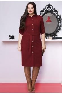 Повседневные платья LeNata 11635 слива фото 1