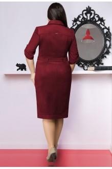 Повседневные платья LeNata 11635 слива фото 2