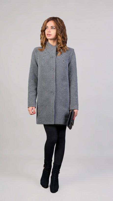 Пальто TricoTex Style 3016 М оттенки серого