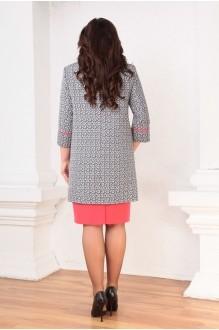 Юбочные костюмы /комплекты Ksenia Stylе 1316 красное платье фото 2