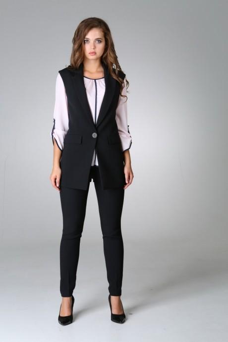 Брючные костюмы /комплекты Arita Style (Denissa) 981 Комплект жилет+брюки
