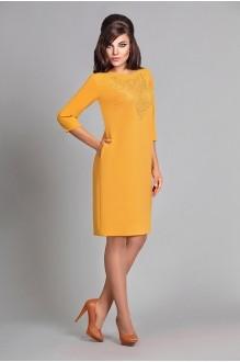 Повседневные платья Мублиз 016 горчица фото 1