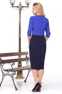Вечерние платья Нинель Шик 5443 синий фото 2