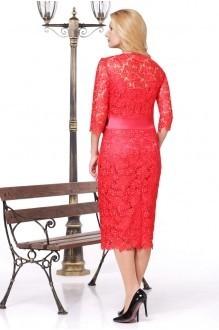 Вечерние платья Нинель Шик 5452 красный фото 2