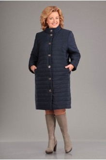 Пальто Асолия 3510 темно-синий фото 1