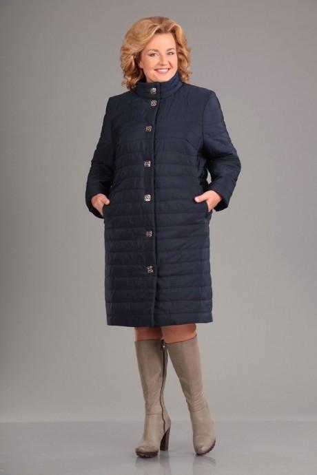Пальто Асолия 3510 темно-синий