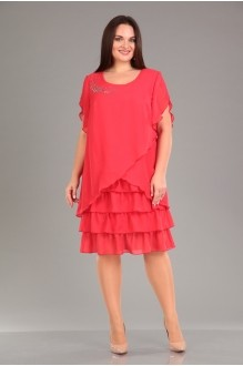 Вечерние платья Лиона-Стиль 466 коралл фото 1