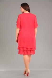 Вечерние платья Лиона-Стиль 466 коралл фото 2