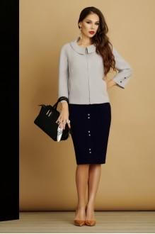 Юбочные костюмы /комплекты Lissana 2885 серый фото 1
