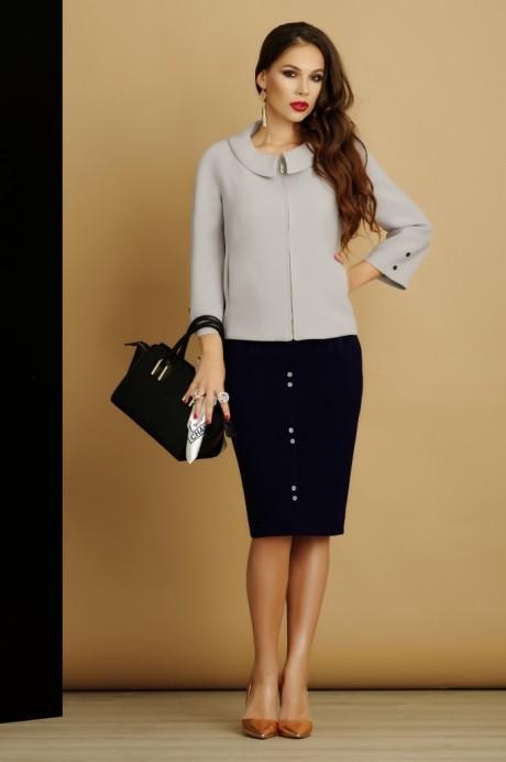 Юбочные костюмы /комплекты Lissana 2885 серый