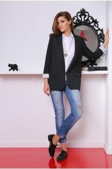 Жакеты (пиджаки) LeNata 11601 черный фото 1