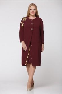 Повседневные платья Надин-Н 1240/4 тёмное бордо фото 1