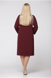 Повседневные платья Надин-Н 1240/4 тёмное бордо фото 2