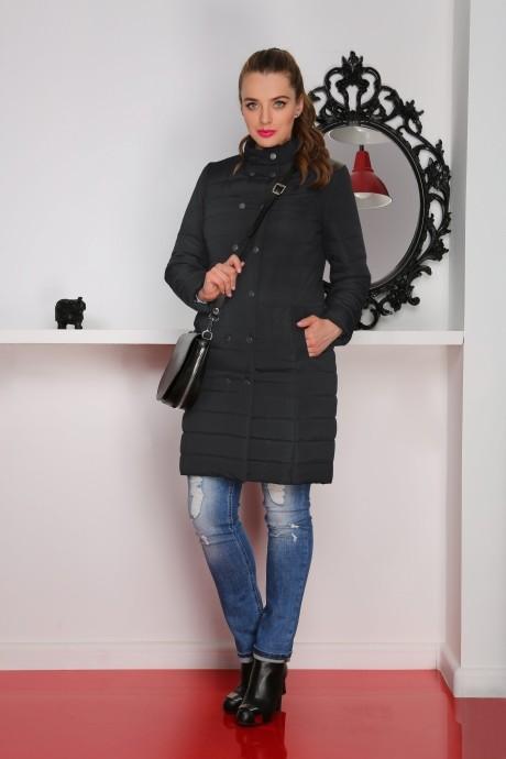 Пальто LeNata 11706 черный