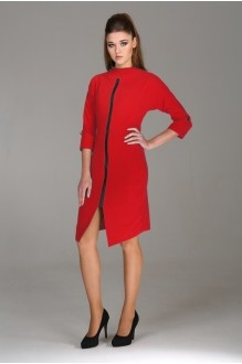 Повседневные платья Arita Style (Denissa) 1003 красный фото 1