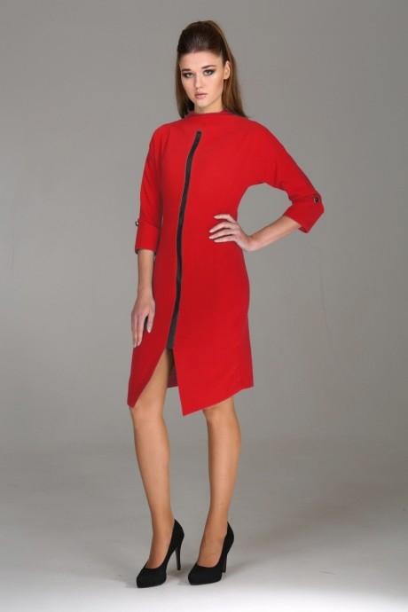Повседневные платья Arita Style (Denissa) 1003 красный