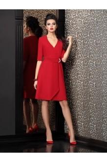 Вечерние платья Твой Имидж 4105 красный фото 1