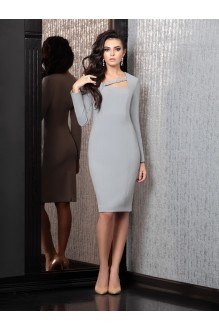 Вечерние платья Твой Имидж 4126 серый фото 1