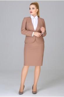 Юбочные костюмы /комплекты Fashion Lux 1017 орех фото 1