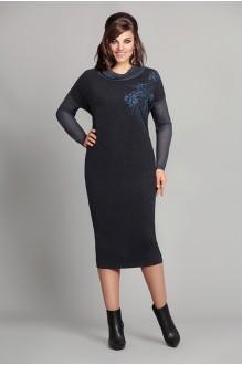 Повседневные платья Мублиз 033 синий фото 1