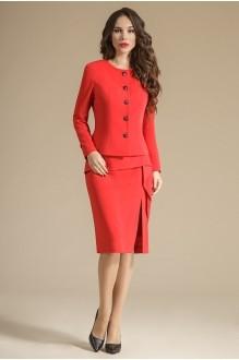 Модель Teffi Style 1233 пурпурно-красный