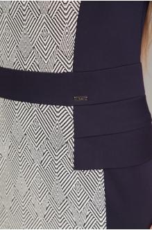 Повседневные платья EOLA 1267 зиг заг + синий фото 3