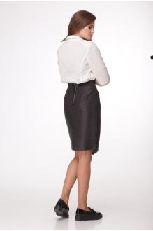 Юбки Джерза 0120 коричневый фото 5
