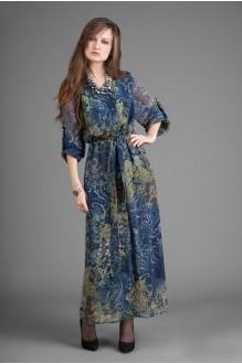 Длинные платья Elpaiz 105 синий фото 1