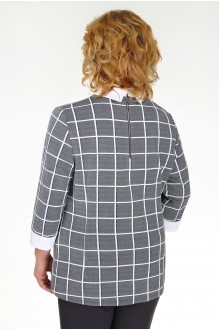 Брючные костюмы /комплекты Ивелта Плюс 2780 серый фото 2