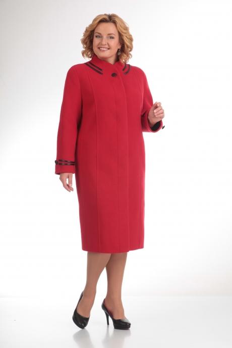 Пальто Diomant 1105 красный