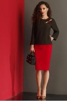 Lissana 3013 красный/чёрный
