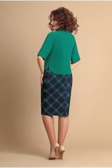 Юбочные костюмы /комплекты Мублиз 064 синий+зеленый фото 2