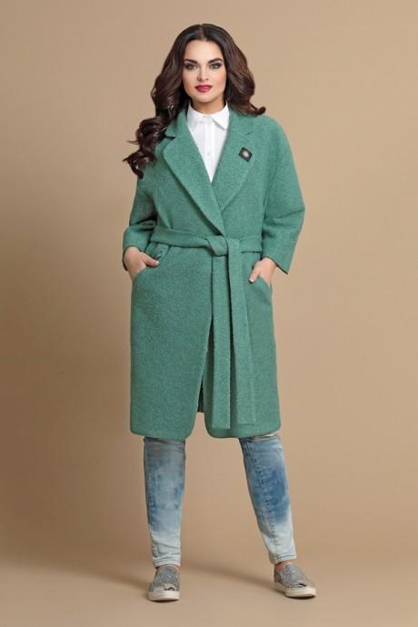 Пальто Мублиз 069 зеленый