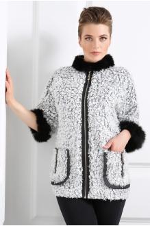 Куртки DiLiaFashion 0039 серый барашек фото 1