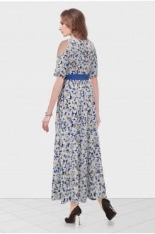 Длинные платья Condra 4632 синий фото 2