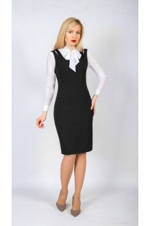 TricoTex Style 6817к черный (сарафан+блуза)