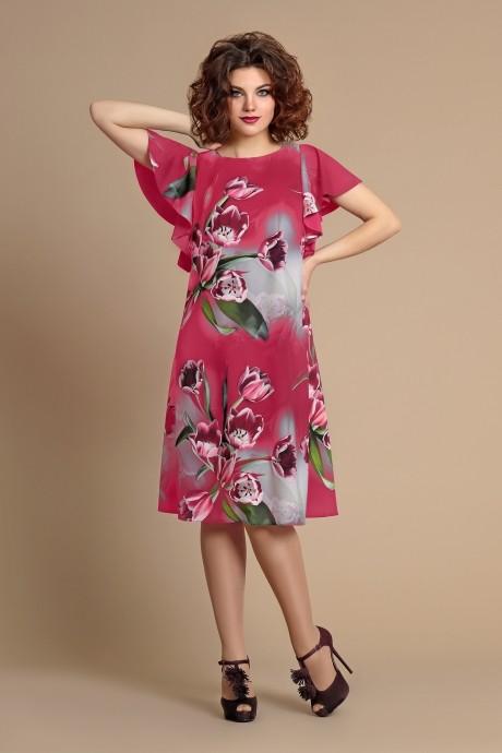 Повседневные платья Мублиз 090 розовый