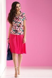 Lissana 3056 оранжевый/розовый