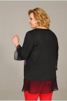 Блузки и туники Джерза 0139 черный фото 3