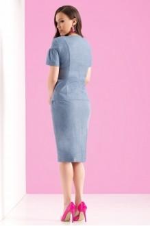 Юбочные костюмы /комплекты Lissana 3122 синий фото 2