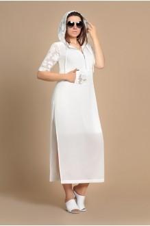 Мублиз 120 (платье+кардиган) молоко