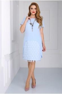Вечерние платья Matini 3.1110 голубой фото 1