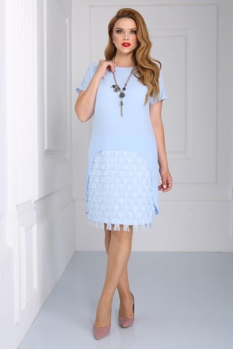 Вечерние платья Matini 3.1110 голубой